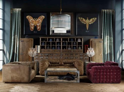 Timothy Oulton's Loft Living Room Concept