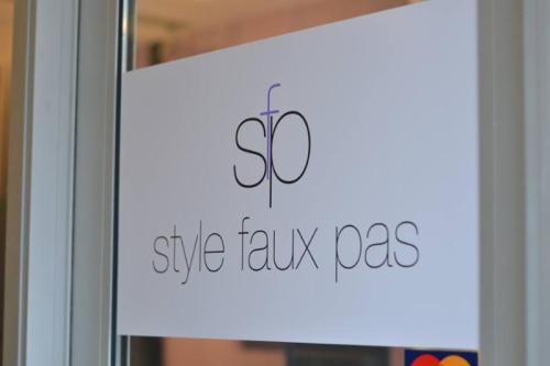 StyleFauxPas