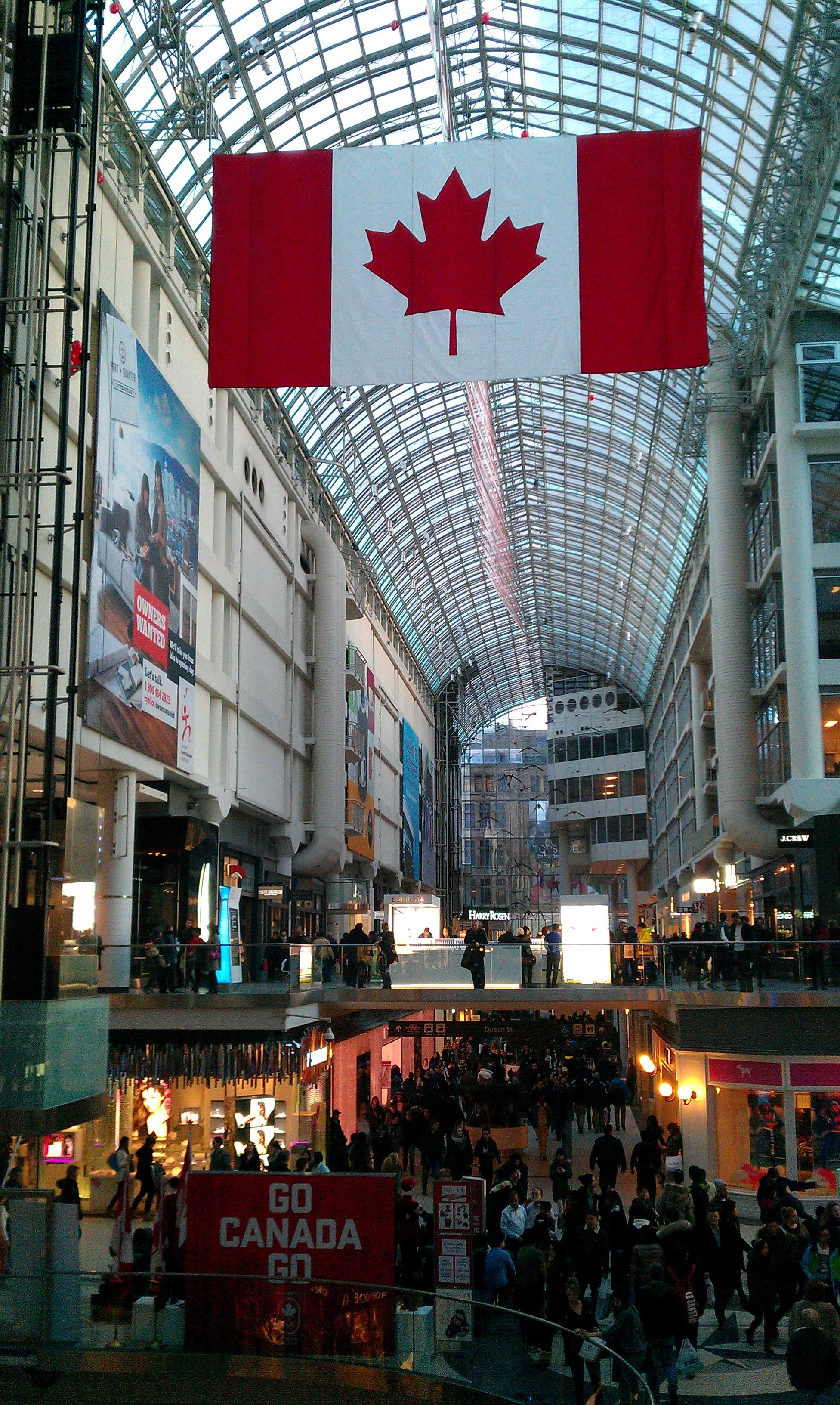 Canada Goose kids sale price - Toronto Eaton Centre   Retail Realm